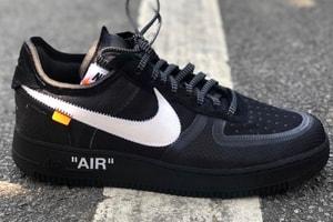 Off-White™ x Nike Air Force 1「The Ten」2.0 黑色版本曝光