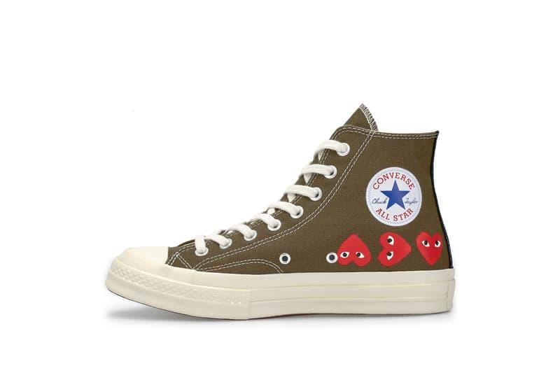 PLAY COMME des GARÇONS x Converse Chuck Taylor All Star '70 系列香港區入手情報