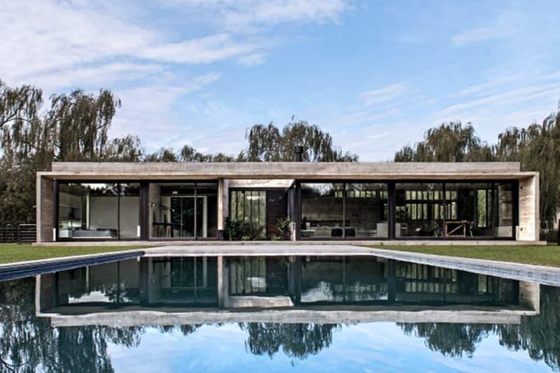 混凝土美學-阿根廷建築師 Luciano Kruk 之作 Rodríguez House