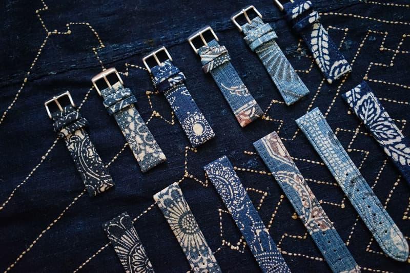 Simple Union 以日本古布定製全新錶帶系列