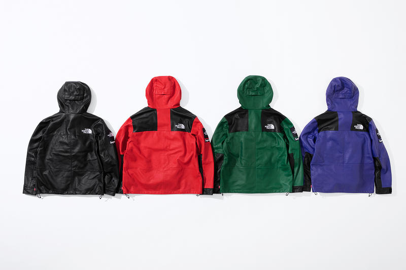 Supreme x The North Face 2018 秋冬「Lambskin Leather」系列登場