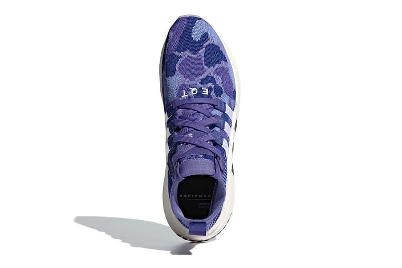 adidas EQT Support Mid ADV 全新「Purple Camo」配色發佈