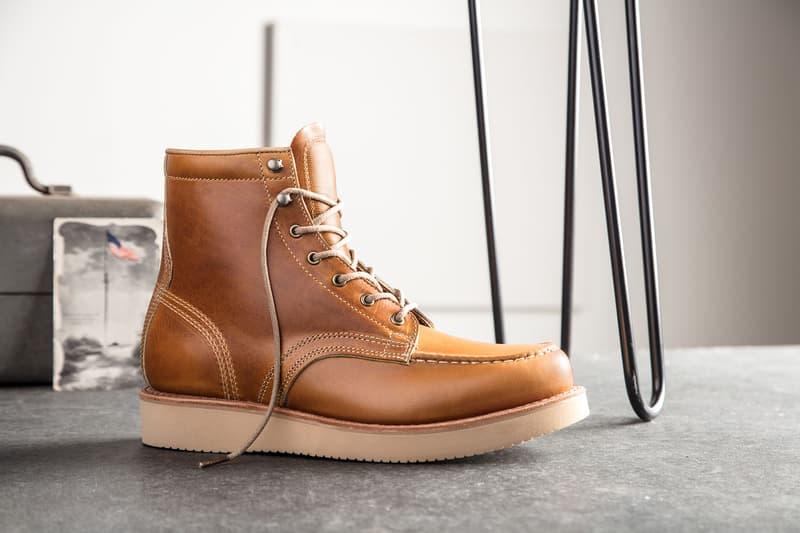 Timberland 推出以美國工藝著稱的 American Craft 限量系列