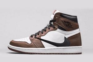 Travis Scott x Air Jordan 1 全新聯乘鞋款發售信息曝光