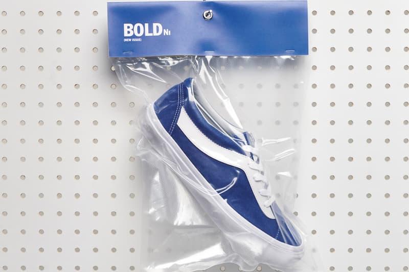 Vans 完美復刻 90 年代經典鞋履 Bold Ni