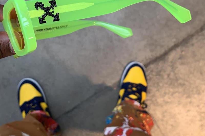 難道 Off-White™ 與 Nike 的下回聯乘將會是 Dunk High