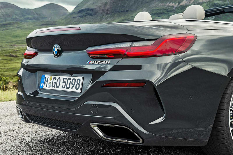 上空浪漫 − BMW 8 Series 2019 全新敞篷車型 Convertible 發佈