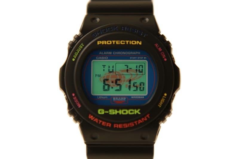 BEAMS x G-SHOCK 以八十年代初期圓形型號作合作錶款!