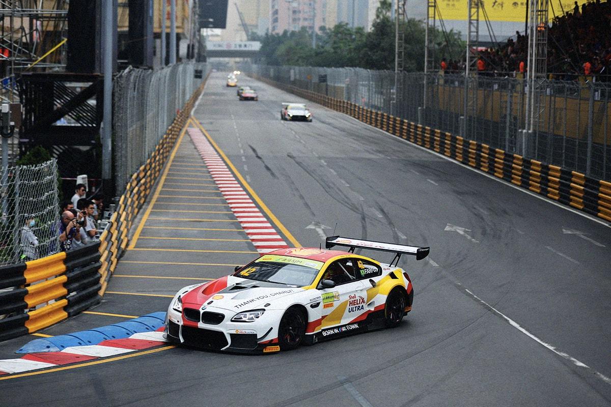 BMW M6 GT3 勇奪澳門格蘭披治大賽車 GT 世界盃冠軍