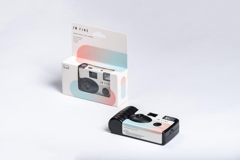 NINM Lab 推出「I'M FINE」即用即棄菲林相機