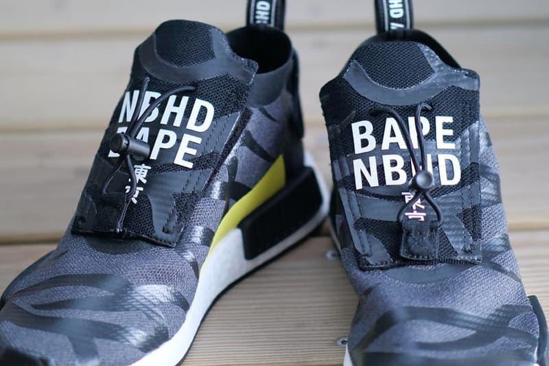 重量級聯乘?!NEIGHBORHOOD x A BATHING APE® x adidas Originals NMD_TS1 曝光!