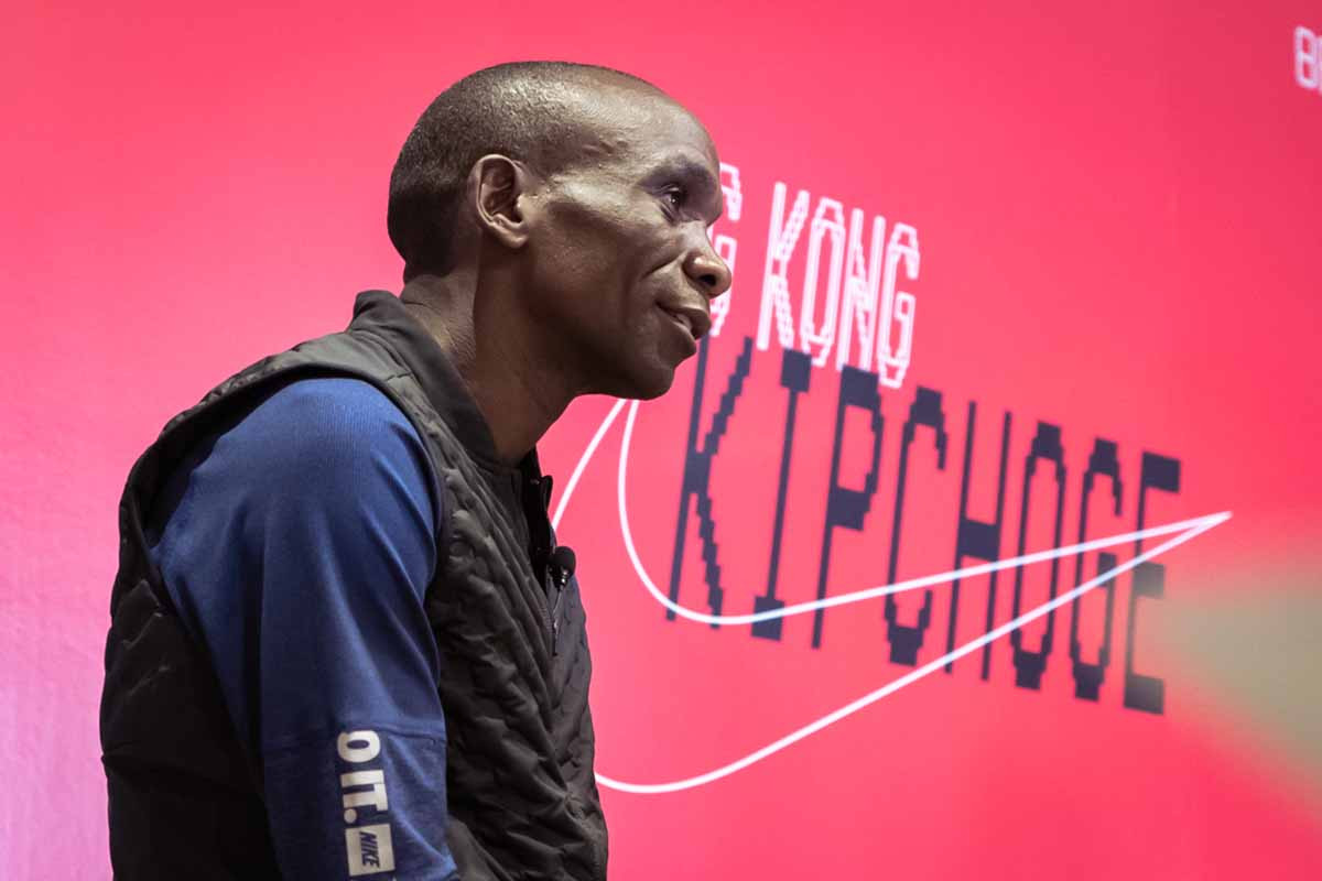 HYPEBEAST 專訪馬拉松世界紀錄保持者 Eliud Kipchoge