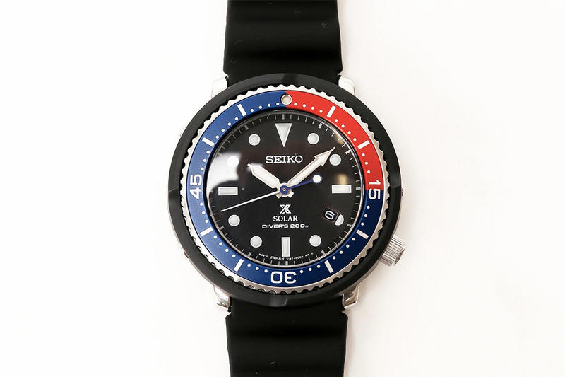 新版細身錶殼-Baycrew's Group 別注版 Seiko Prospex「太陽吞」