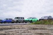 究極 SUV 之爭-AMG G63、Urus、Range Rover Sport SVR、Model X 幻之 Drag Race 對決