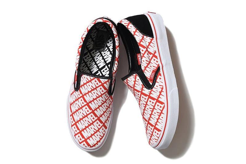 Vans x Marvel 聯名鞋款「Marvel Logo」追加款式