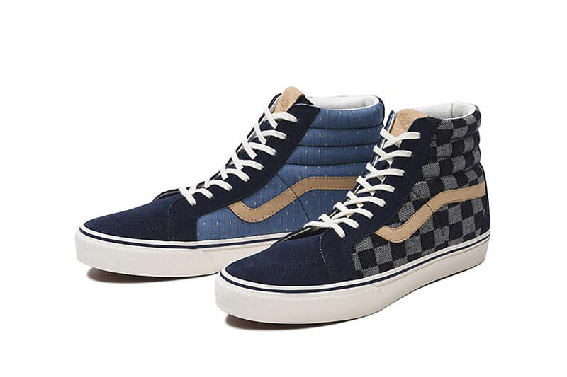 「刺し子」傳統工藝-Vans「Japan Fabrics Collection 」日本布系列再度登場