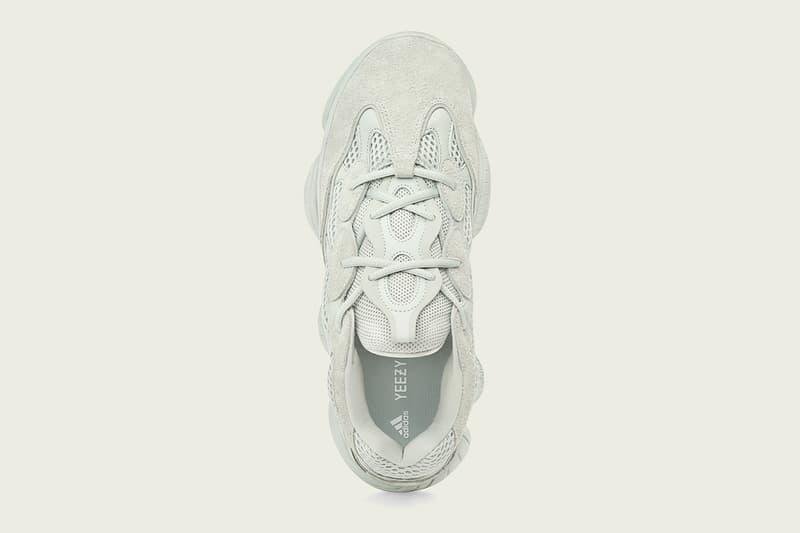 密集式推出-adidas Originals YEEZY 500 全新配色「Salt」香港區發售情報