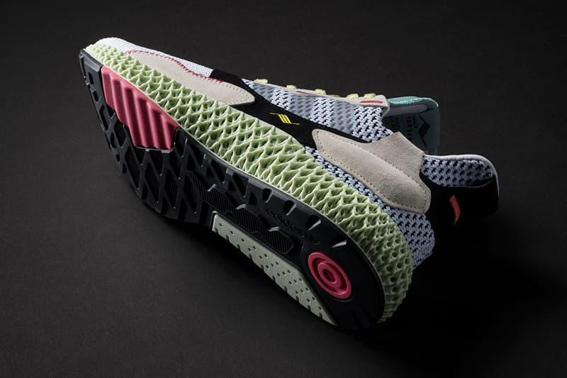 adidas Consortium 推遲革新混血鞋款 ZX 4000 4D 上架日期