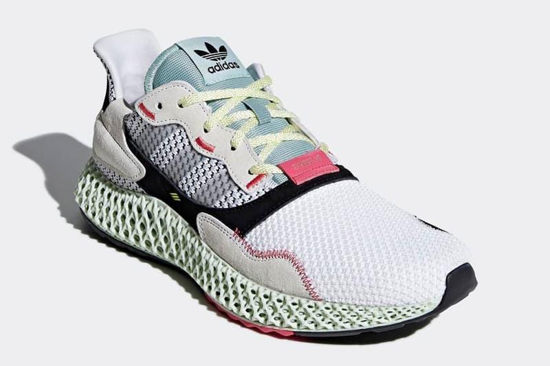 adidas Consortium 革新混血跑鞋 ZX 4000 4D 官方圖片釋出