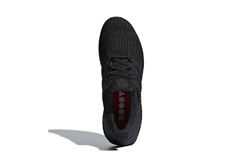 adidas UltraBOOST 4.0 全新「Triple Black」配色發售日期公開