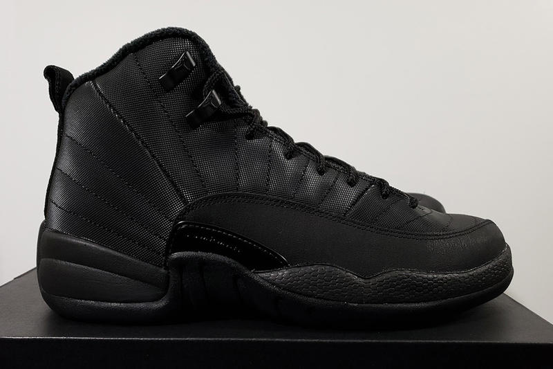 搶先預覽 Nike Air Jordan 12 全新「Winterized」黑魂配色