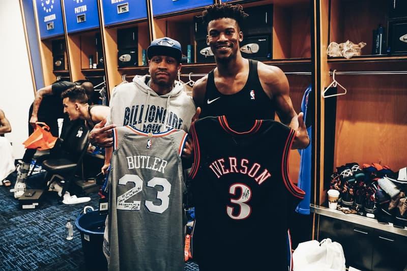 「戰神」Allen Iverson 稱讚 Jimmy Butler 交易案:我們有機會打進 NBA Finals!