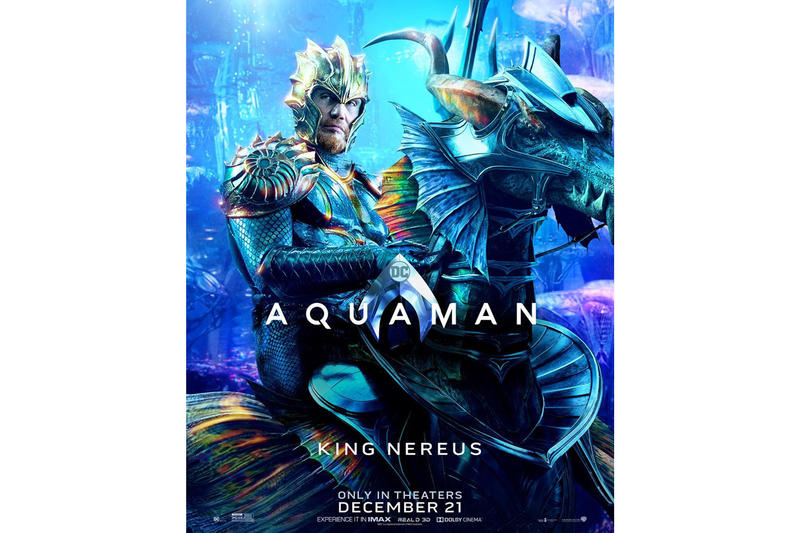 DC 年度巨作《Aquaman》迎來官方全新電影海報亮相