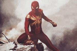 Marvel Studios 概念藝術書揭示 Iron Spider 本是元祖配色設定