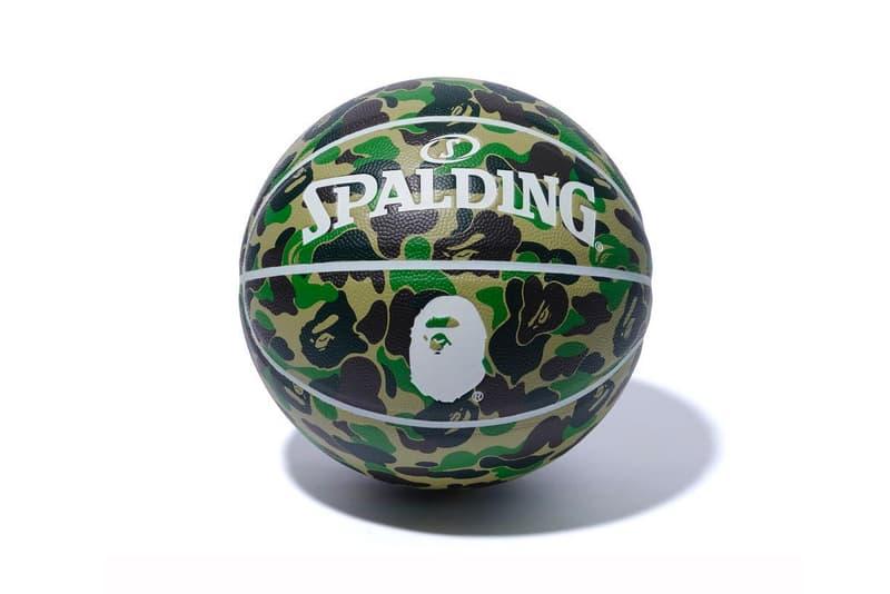 A BATHING APE® x Spalding 猿顏樣迷彩籃球香港區抽籤情報