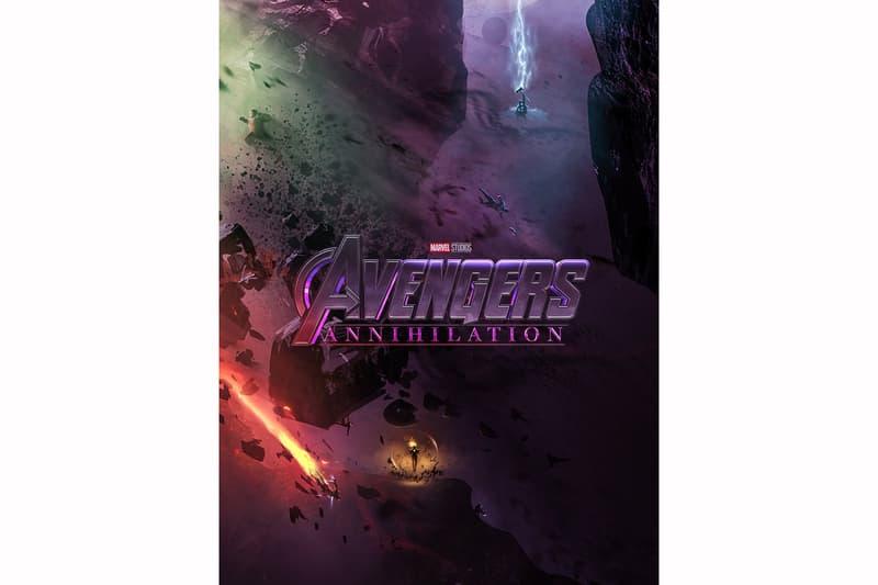 心急如焚-Marvel 迷客製《Avengers 4》電影海報