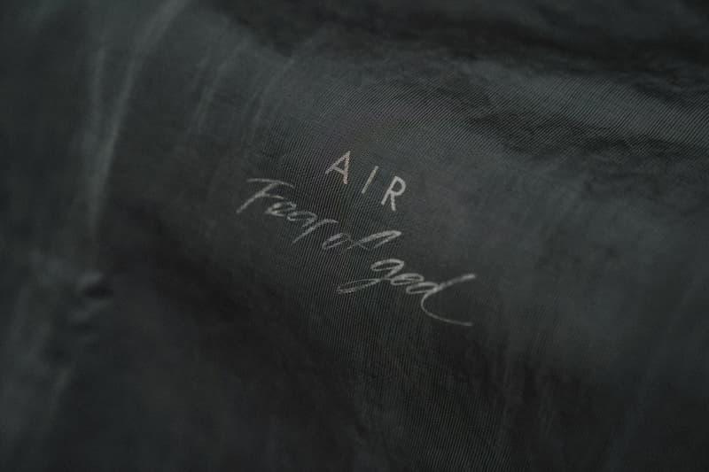 近賞 Fear of God x Nike 聯乘 Air Fear of God 1 系列
