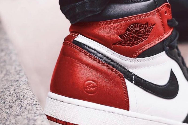 fragment design x Air Jordan 1「Red」配色或將於明年發佈!?