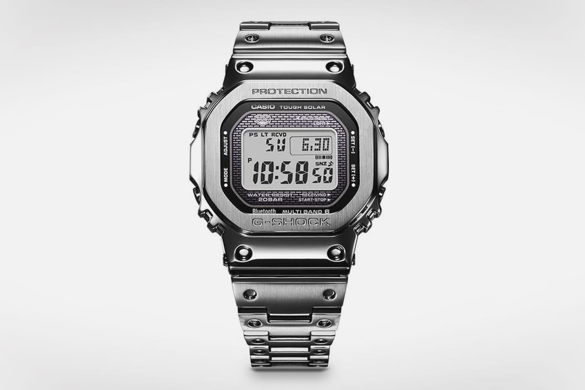 Day 18:送出 G-Shock  35 週年限定元祖 DW-5000 不繡鋼錶