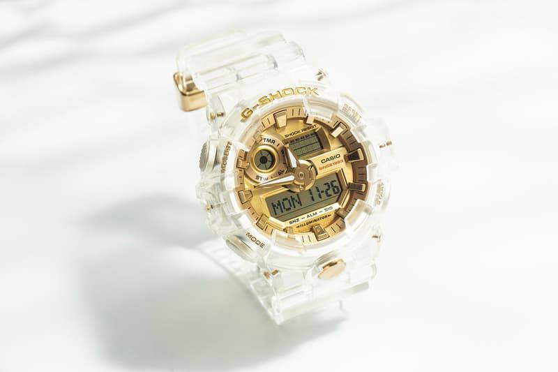 G-Shock 透明錶殼「Glacier Gold」35 周年別注系列重新上架