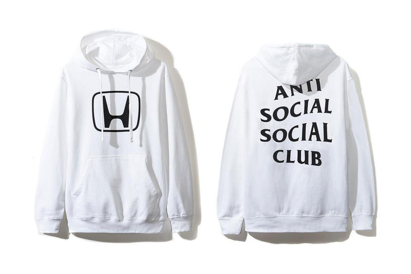 Honda x Anti Social Social Club 全新跨界聯乘系列發佈