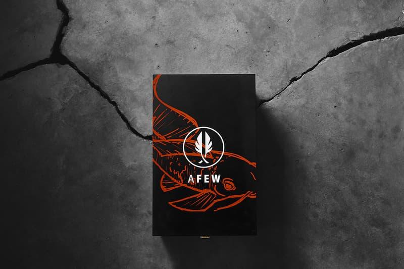 AFEW x BEAMS x ASICSTIGER 以錦鯉為題推出聯乘系列