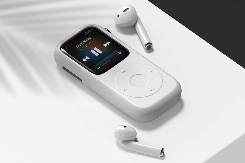 回到舊時-韓國設計師以 iPod 外觀設計 Apple Watch 保護套