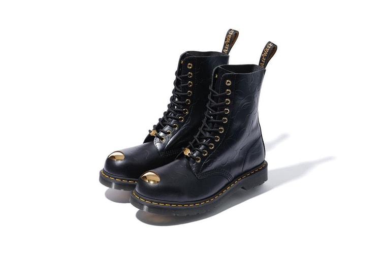f9aff6ce7c2 Dr. Martens Applique Keaton Steel-Toe Cap Shoe 皮革鞋款| HYPEBEAST