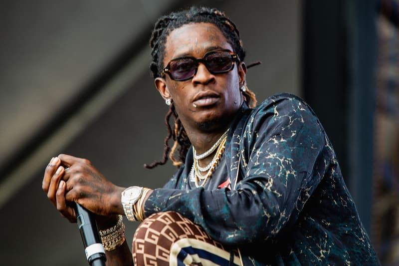 說唱歌手 Young Thug 因未通過藥物檢測而遭判入獄