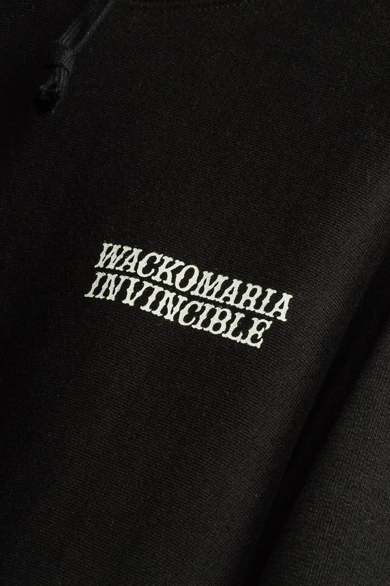 INVINCIBLE x WACKO MARIA 別注聯乘系列發佈