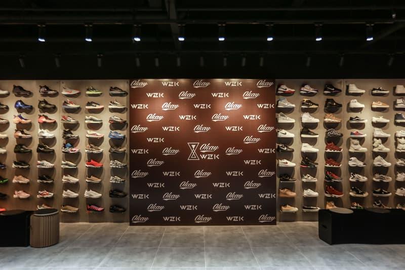 由人氣 Rapper Jony J 開設!走進全新球鞋店舖 OKAY WZK