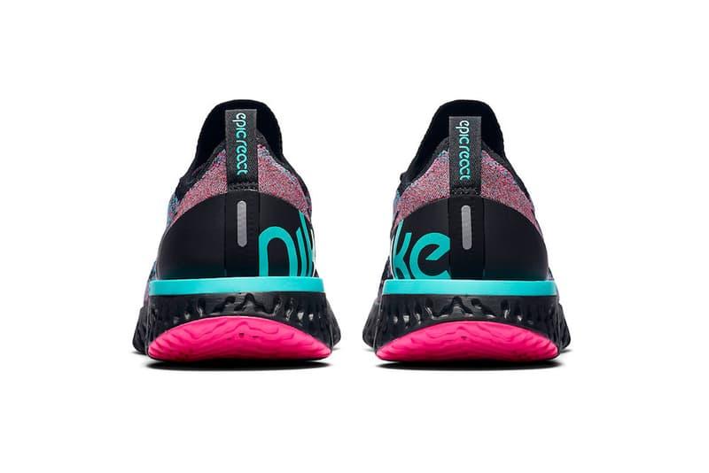 Nike Epic React Flyknit 全新「South Beach」配色登場