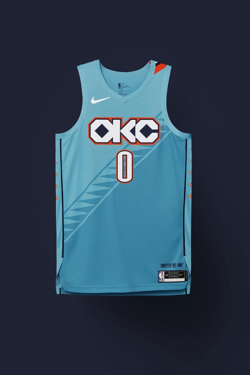 Nike 發佈 2018-2019 NBA 最新城市別注系列球衣