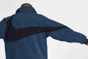 超巨體 Swoosh 再來-Nike Sportswear 釋出新配色雙面拉鏈外套