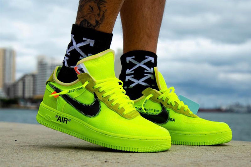 Off-White™ x Nike 聯乘 Air Force 1「Volt」上架情報公佈