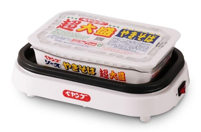 眾籌生產-日本まるか研發世界初首部自助炒麵機