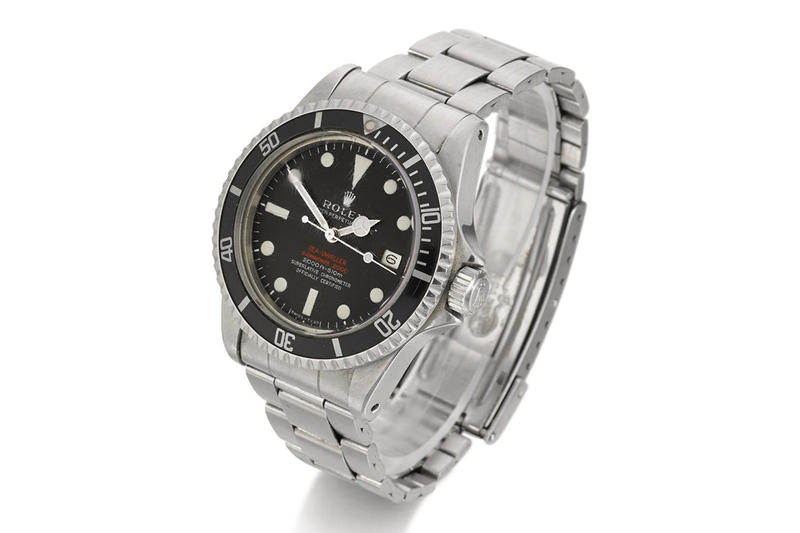 Rolex 經典錶型 Sea-Dweller「Double Red」展開拍賣