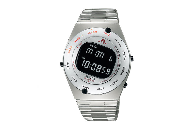 80 年代經典重現-SEIKO 推出限定復刻版 GIUGIARO DESIGN 電子錶