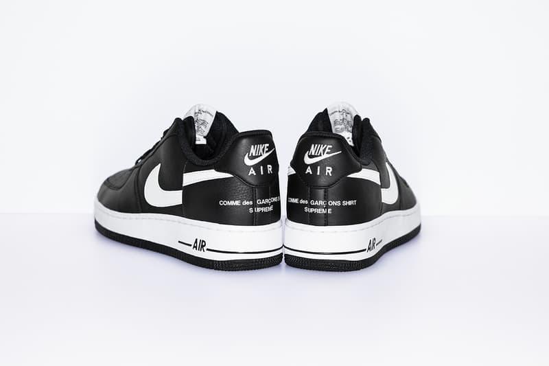 Supreme x COMME des GARÇONS SHIRT x Nike 三方聯乘 Air Force 1 Low 正式發佈