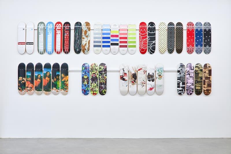 史上最全!搶先預覽 Supreme 滑板及配飾主題展「Inferno」